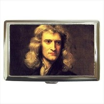 Isaac Newton Cigarette Money Case - $12.56