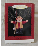 Hallmark Keepsake THIS BIG Fishing Santa Ornament - 1996  - $8.95