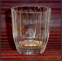 CROWN ROYAL GLASSES ♚ 2 ♚ Lowball Rocks Bottle Embossed White Ltr Drinki... - $12.95