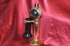 AVON Bottle Stick Telephone Cologne Powder Wild Country Fragrance - $23.36