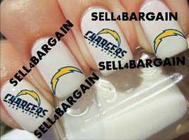 San Diego Chargers Nfl Football》Tattoo Nail Art Graphic Decals《Non Toxic - $16.99