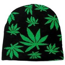 Punk Winter Skiing Snowboarding Hat Marijuana Leaves Beanie # FT125 ( QT... - £9.24 GBP