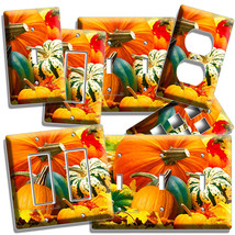 Pumpkins Squash Harvest Light Switch Wall Plate Outlet Kitchen Dining Room Decor - $10.99+