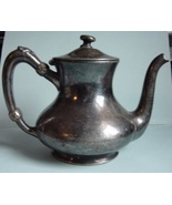 Reed and Barton Silver Coffee Pot 875 2 Portion  Marked Osborne Hotel - $12.00
