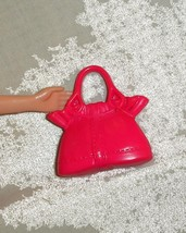 Barbie doll pink purse handbag accessory - $7.99