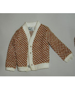 barbie boyfriend Ken doll vintage Fraternity Meeting sweater jacket shirt - $17.99