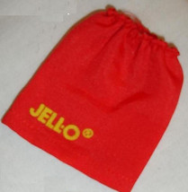 Barbie doll clothes Jello skirt red with yellow lettering from 1986 - $6.99