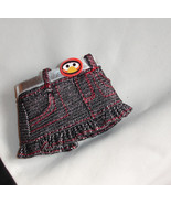 Barbie doll clothes Tickle Me Elmo Skirt with plastic buckle - $7.99