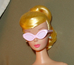 Barbie doll solid pink cat eye glasses sunglasses - $7.99