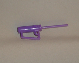 Barbie boyfriend Ken doll accessory tool caulk or grease gun purple color - $6.99