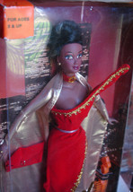 Princess Delight Janay doll 1999 Twin Towers background red dress - $49.99