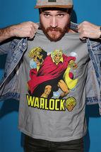 Adam Warlock Tshirt 1970s retro gray cotton graphic tee Marvel Comics Bronze Age image 3