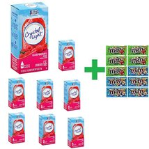 Crystal Light On The Go Raspberry Ice Drink Mix 10 CT (Pack of 8) + 10 P... - $74.10