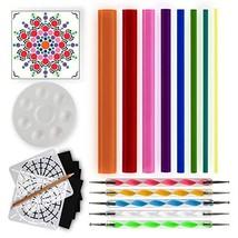 Mandala Dotting Tools for Painting Rocks - Dot Painting Tools, Stencils,... - $19.09