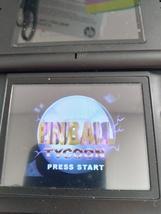 Nintendo Game Boy Advance GBA Pinball Tycoon: Trigger Finger Challenge image 1