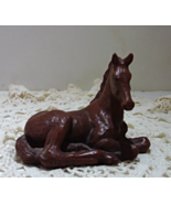 Vintage Red Mill Manufacturing Chestnut Foal // Vintage Horse Figurine - $16.00