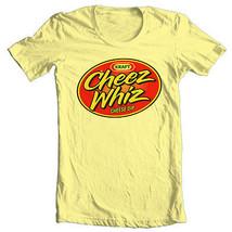 Cheez Whiz T Shirt retro vintage 1970's 1980's brands 100% cotton graphic tee image 1