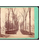 BANGOR MAINE 1870s PHOTO STEREOVIEW - Broading Looking South from Somers... - $49.95