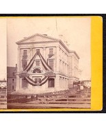 BANGOR MAINE CENTENNIAL 1769-1869 PHOTO STEREOVIEW #4 - $59.95