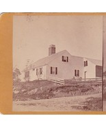HOWARD HOUSE BANGOR MAINE STEREOVIEW Oldest Home in City (1869) - $59.75