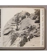 SEQUOIA NAT. PARK, CA PHOTO STEREOVIEW - Moro Rock #2 - $40.00