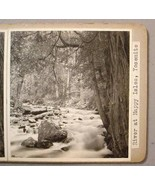 YOSEMITE RIVER AT HAPPY ISLES PHOTO STEREOVIEWS - $35.00