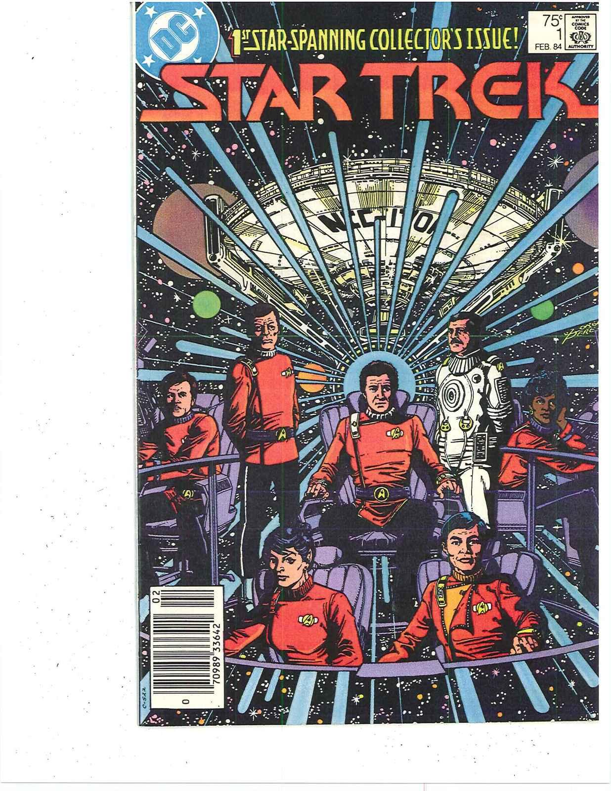 STAR TREK #1 HI GRADE    D C COMICS  1983