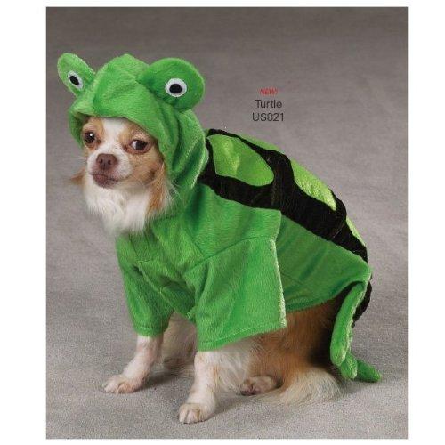 Zack & Zoey Polyester Turtle Dog Costume, Medium