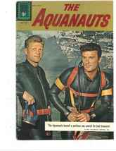 10     1961 The Aquanauts Comic Book #1197 Silver Age Dell comics Scuba ... - $16.00