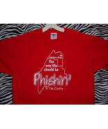 PHISH CONCERT T SHIRT ~ RED/LARGE - $24.95
