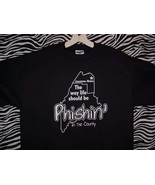 PHISH CONCERT T SHIRT ~ BLACK/LARGE - $24.95