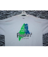 Phish T Shirt - Cream with Blue & Green (XL) - $24.95