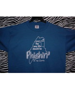 PHISH LEMONWHEEL 1998 CONCERT T SHIRT ~ BLUE/XL Limestone Maine - $24.95
