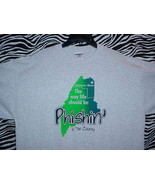 PHISH CONCERT T SHIRT ~ GRAY & GREEN/LARGE - $24.95