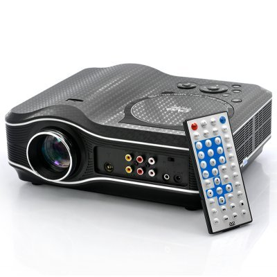 DVD Projector - DVD Player Built In -Remote- Mp3   (Hot Item)