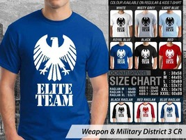 T Shirt Elite Team Militer Theme Many Color  - $9.99+