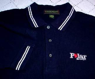 New! Polar Beverages Polo Shirt (L) Sporty! and 50 similar items 18deaf020