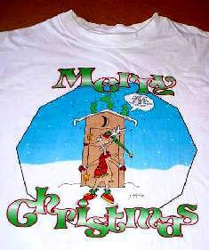 Rudolph   Santa Comic Christmas ~ T Shirt (L) and 50 similar items 4519473ba