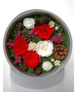 Preserved Floral Arrangement|Christmas Floral Decor|Home Decor|Table Cen... - $155.00
