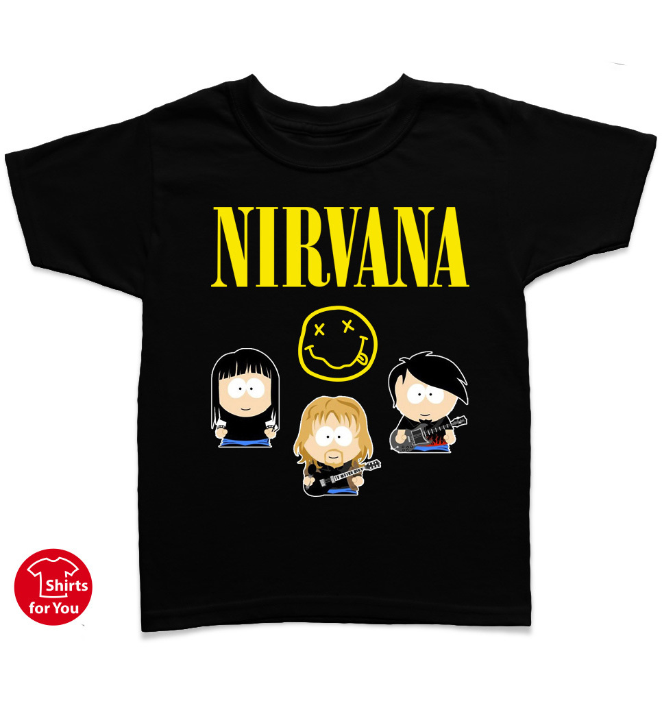 Nirvana: -- find now cool outfits and accessories for mini-rocker (newborn up to 13 years). Guaranteed % officially licenced Hard Rock- and Heavy Metal Band-Designs.