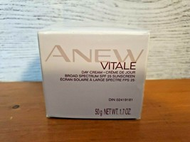 Avon Anew Vitale Day Cream with Broad Spectrum SPF 25 - 50g - New Sealed - $19.95