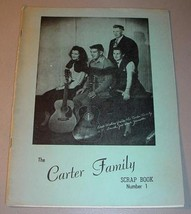 Carter Family Scrap Book Number One   Jimmie Rodgers C&W Pioneers - $45.00