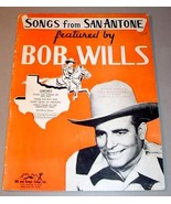 SONGS FROM SAN ANTONE FEATURED BY BOB WILLS - Songbook Folio (1946) - $95.00