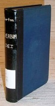 VERBUM DEI - Yale Lectures on Preaching (1893) - $19.95