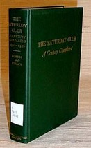 SATURDAY CLUB - A Century Completed, 1920-1956 - $19.95