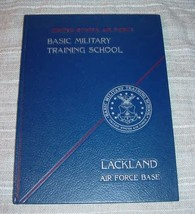 LACKLAND AIR FORCE BASE Squadron 3743 Flight 319 Yearbook Military Train... - $34.75