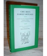 CHU HIS'S FAMILY RITUALS HC/DJ Patricia Buckley Ebrey (1991) - $174.75