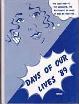 1989 GENESIS Oak Hill High School Yearbook - Sabattus, Wales, Litchfield... - $45.00