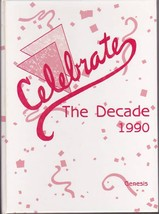 1990 GENESIS Oak Hill High School Yearbook - Sabattus, Wales, Litchfield... - $45.00
