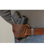 Barsony Brown Leather Slide Holster WALTHER PK 380 P22 - $24.99